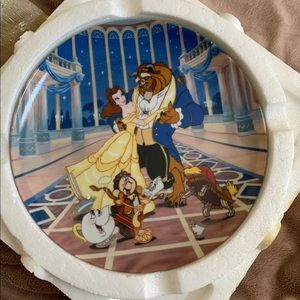 Disney's Beauty and the Beast Plate